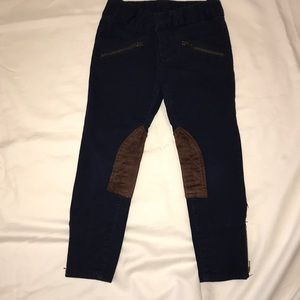 Girls Ralph Lauren navy jodhpurs